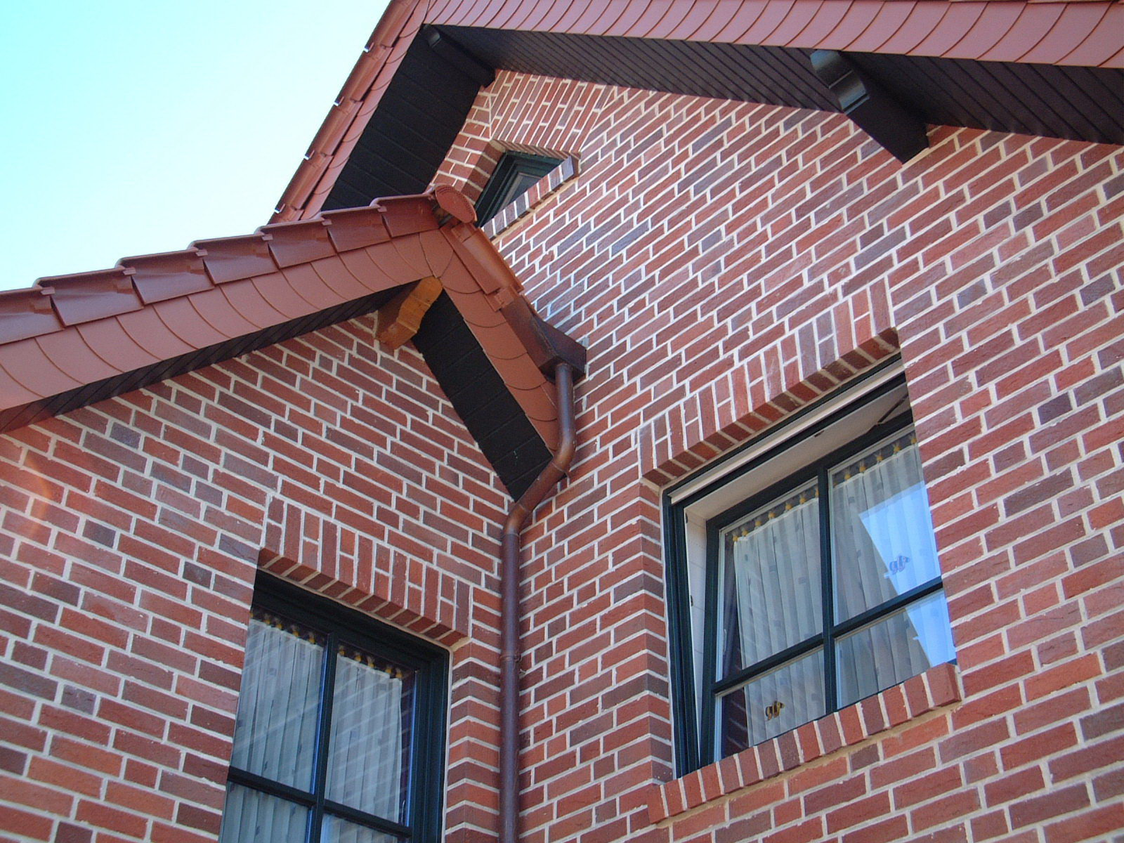 Клинкерный фасад дома