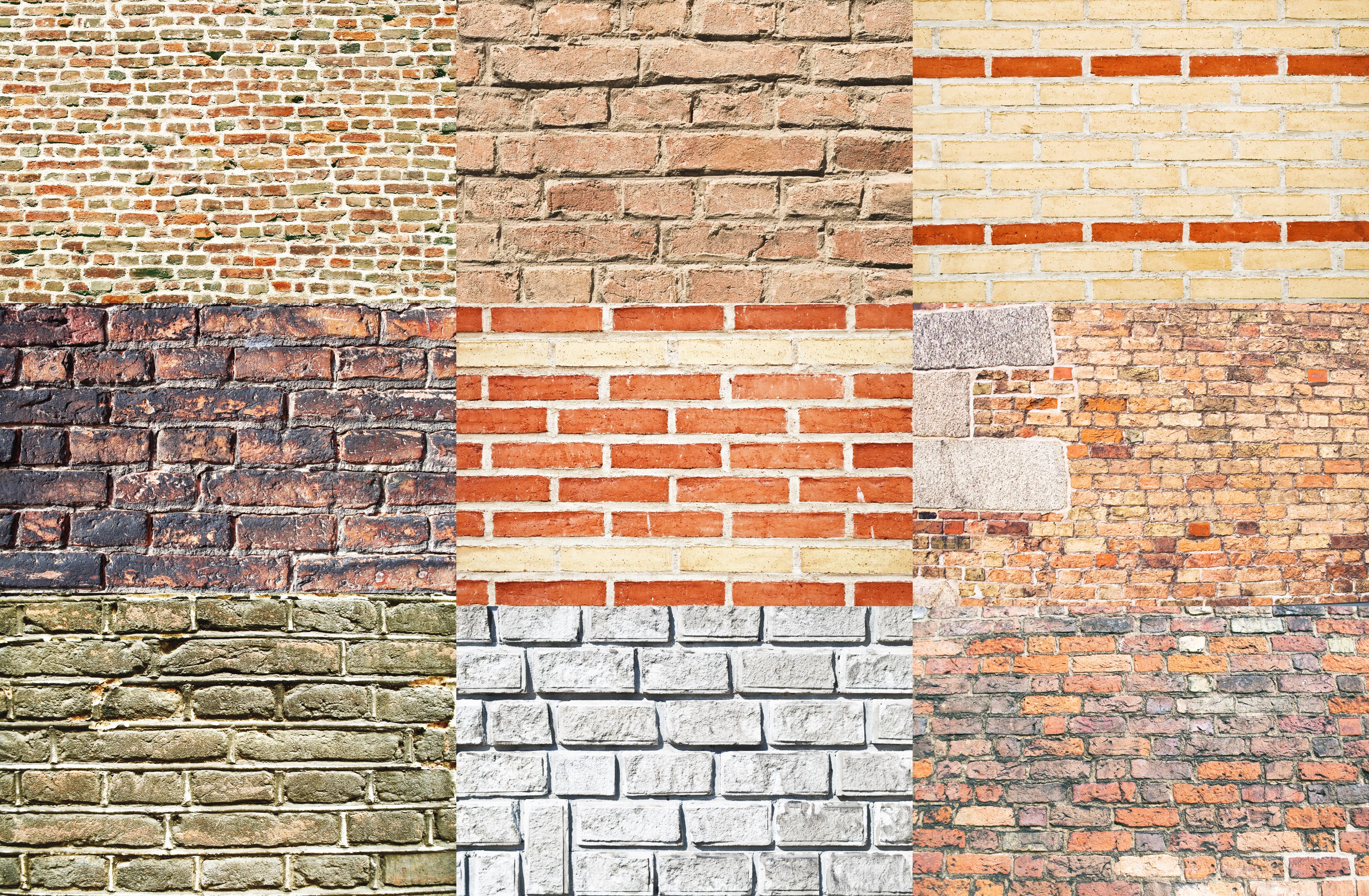 Варианты кирпичного фасада