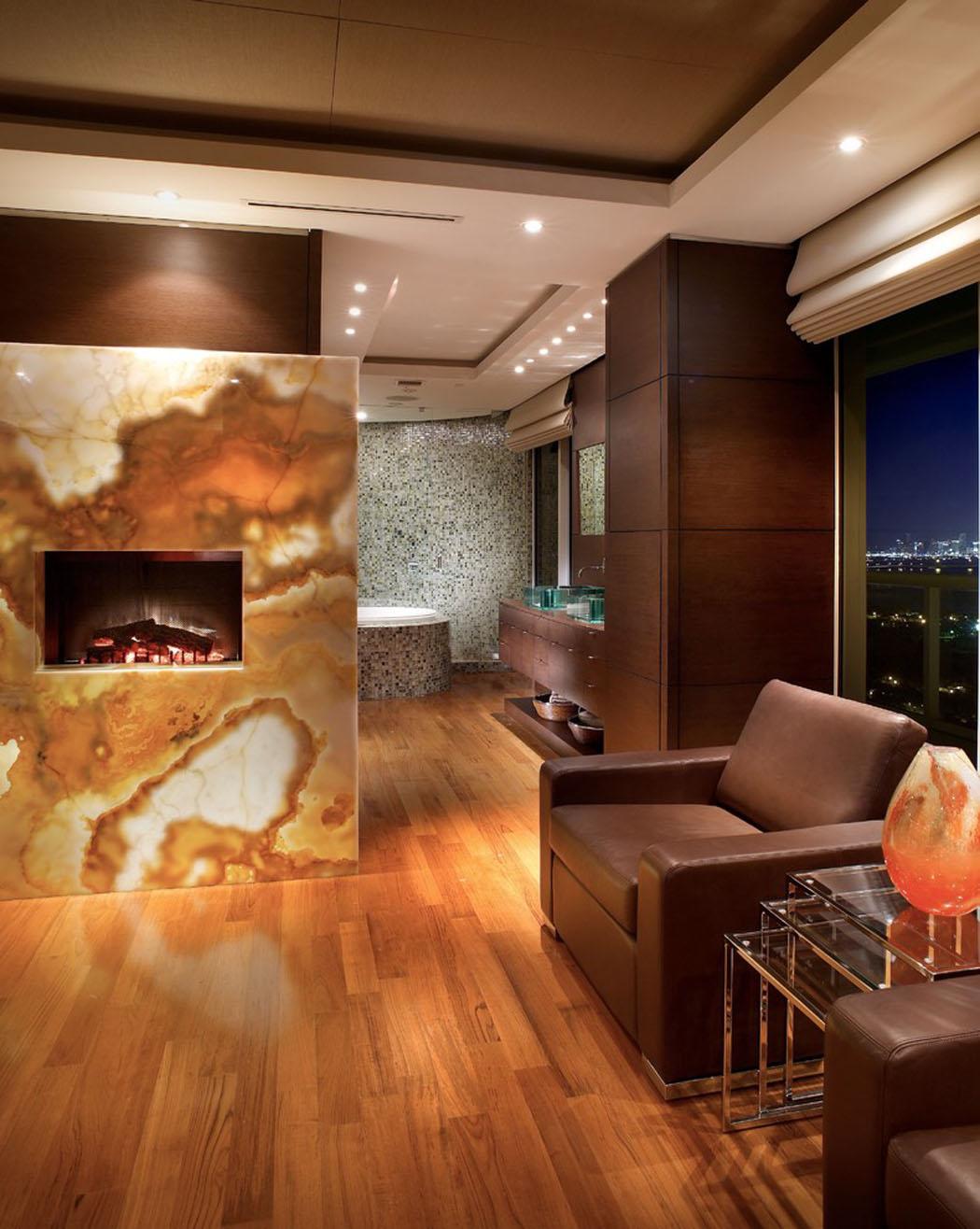Сочетание коричневого цвета в интерьере квартиры