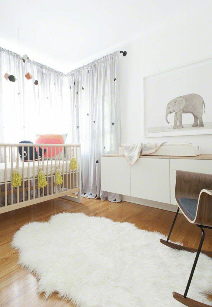 Дизайн штор для детской комнаты льняной