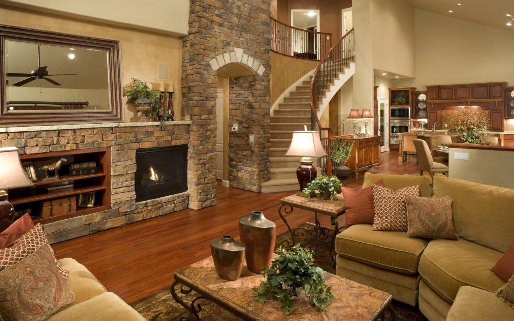 Полукруглая каменная лестница