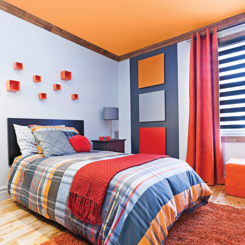 Дизайн штор для детской комнаты на люверсах