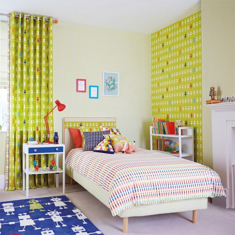 Дизайн штор для детской комнаты мальчика