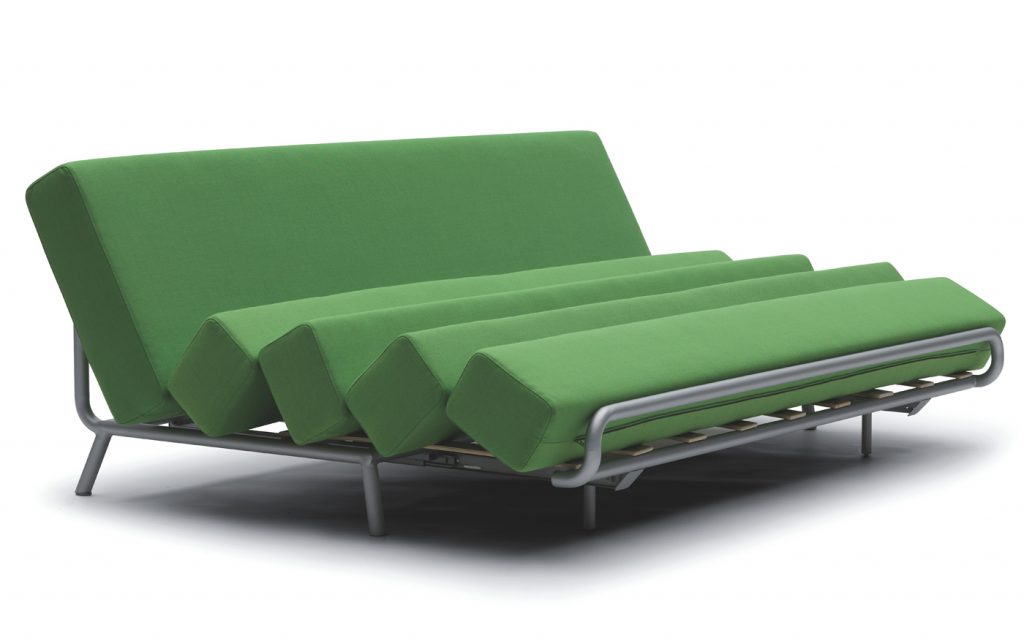 Зеленый диван-трансформер
