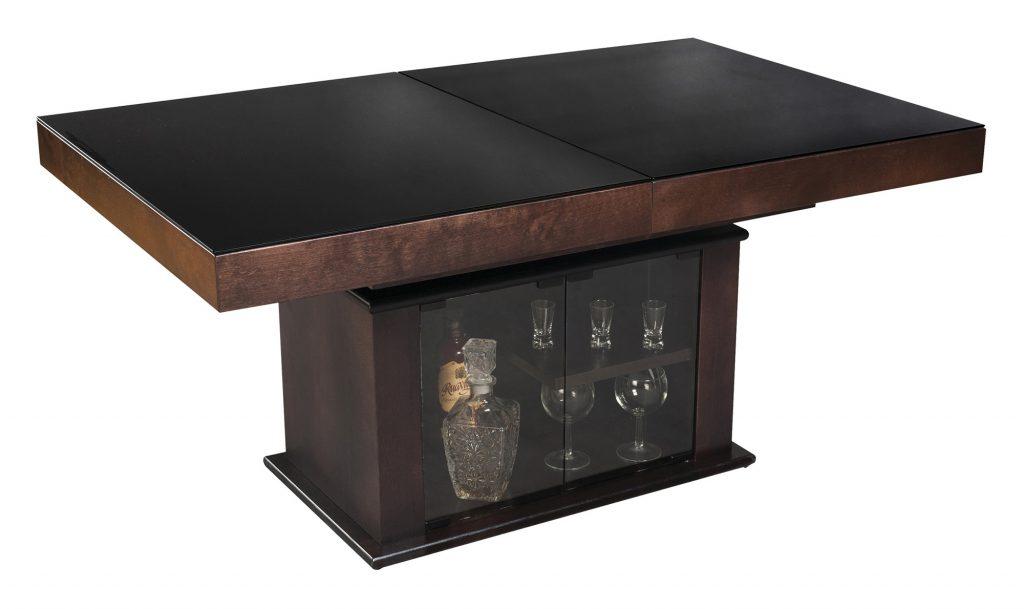 Обеденный стол-трансформер с баром