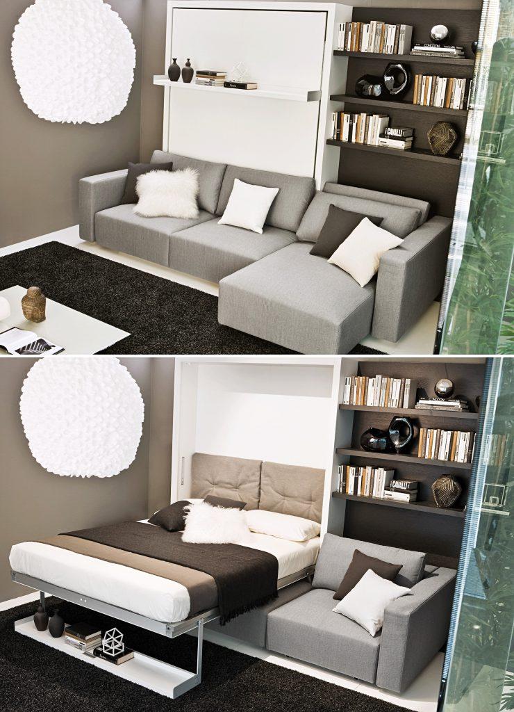 Многофункциональный шкаф-диван-кровать