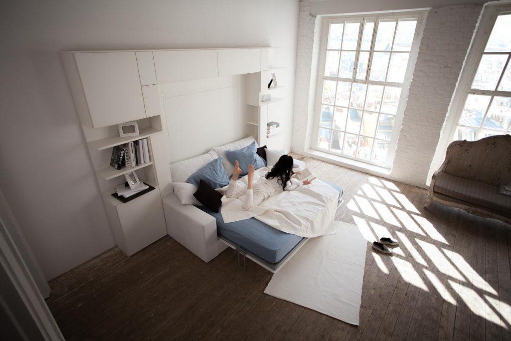 Трансформирующийся шкаф-кровать