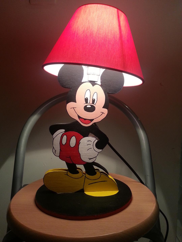 Прикроватный светильник детский