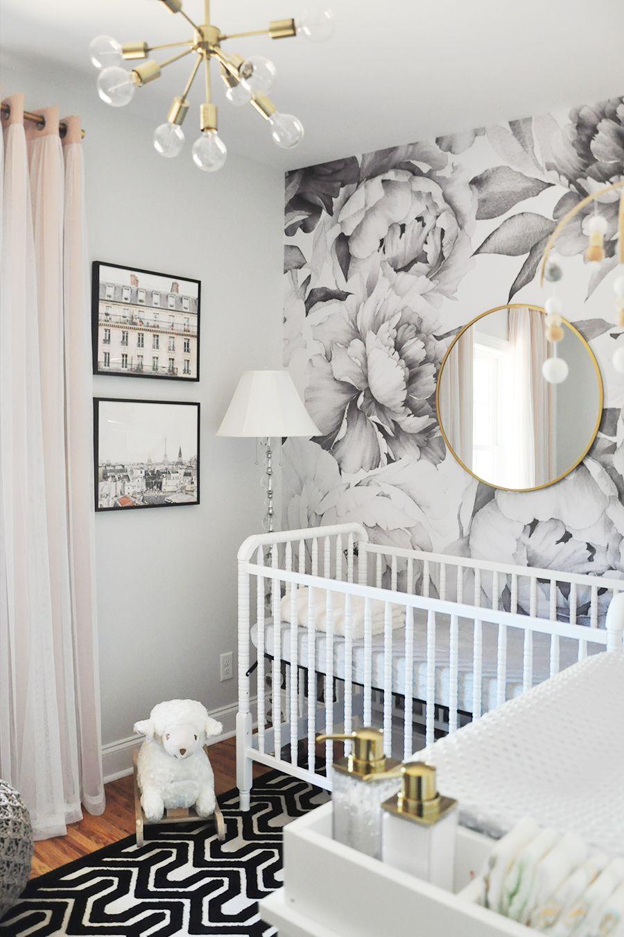 Дизайн штор для детской комнаты модерн