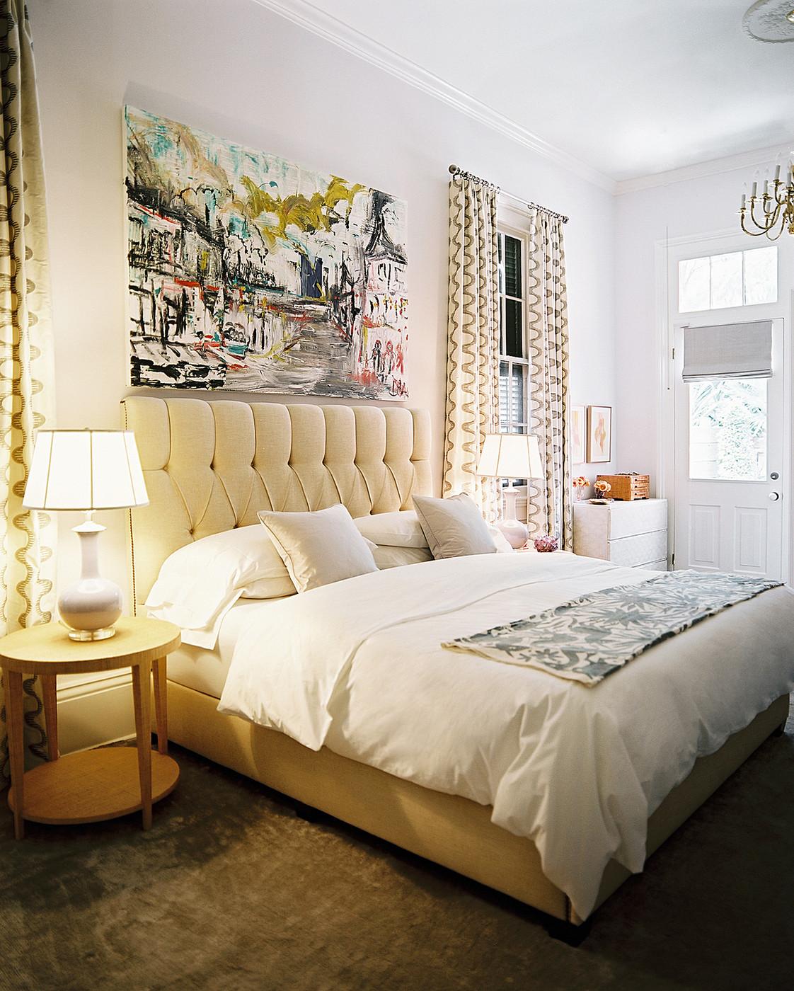 Картины над кроватью в стиле модерн