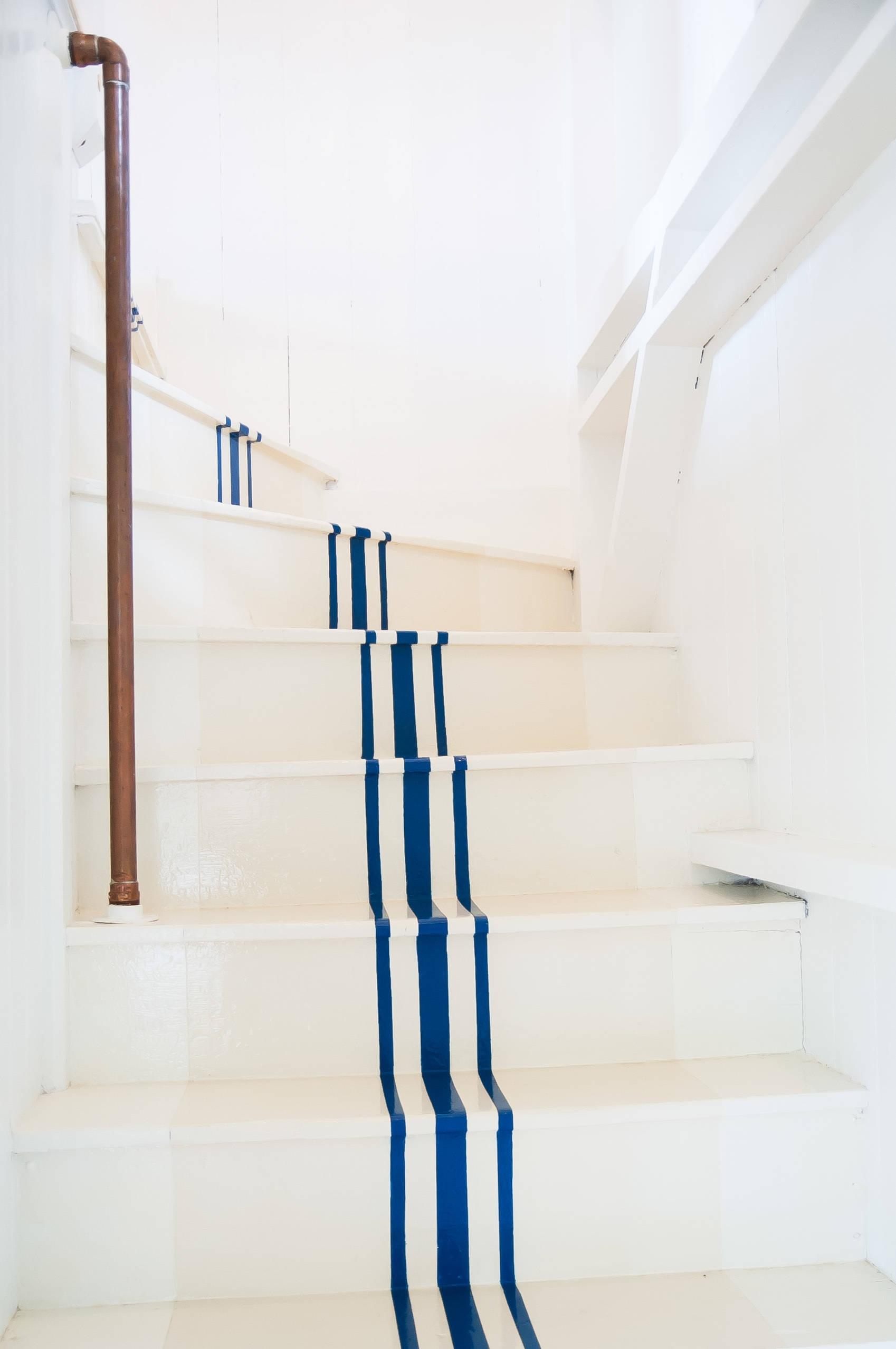 Лестница в морском стиле