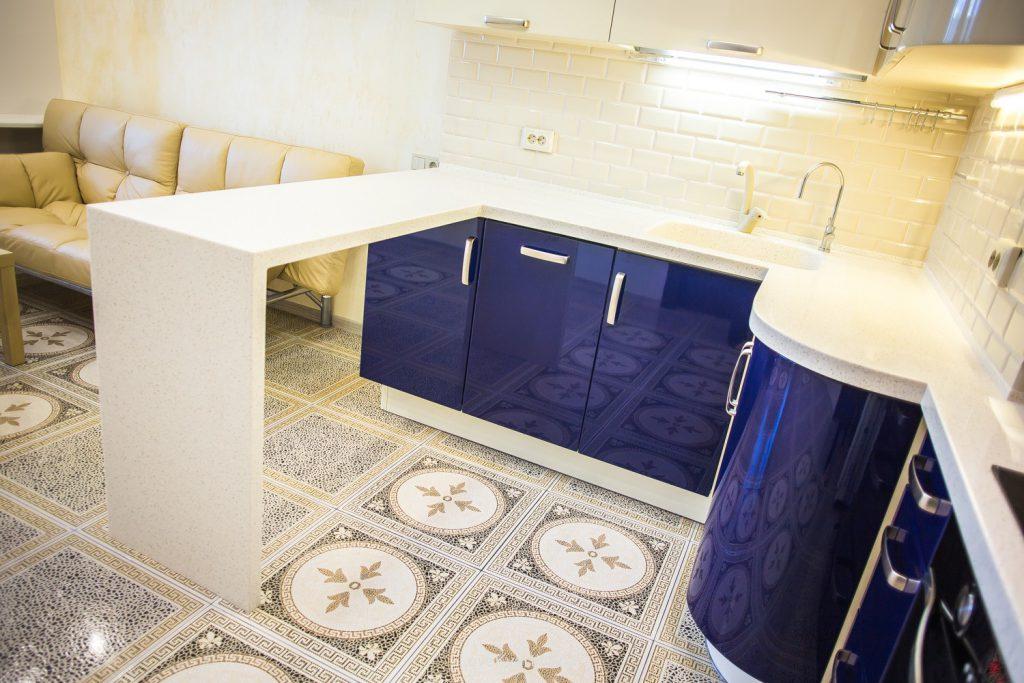 Плитка с восточным узором для кухни