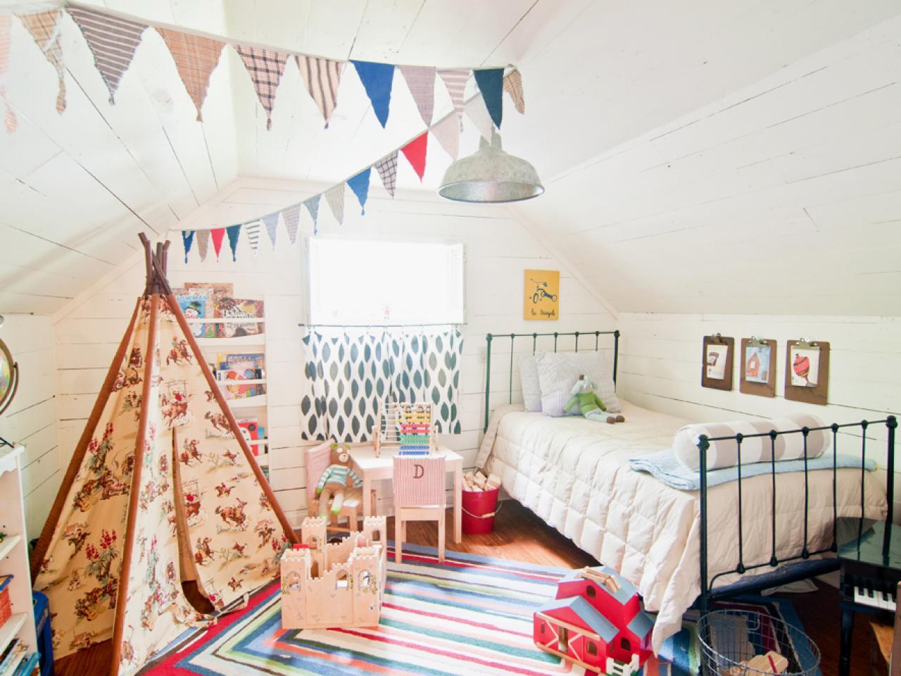 Дизайн штор для детской комнаты небольших