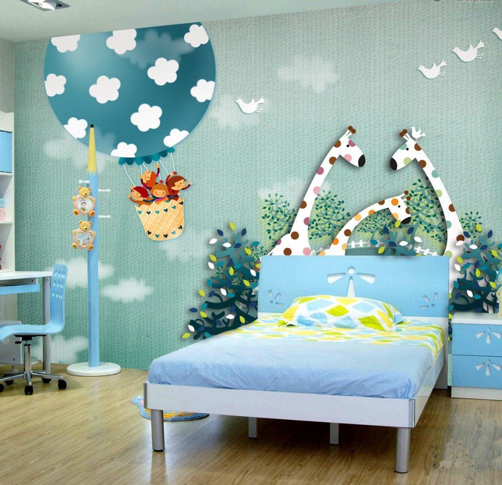 Яркие и красивые обои для детской комнаты мальчика или девочки