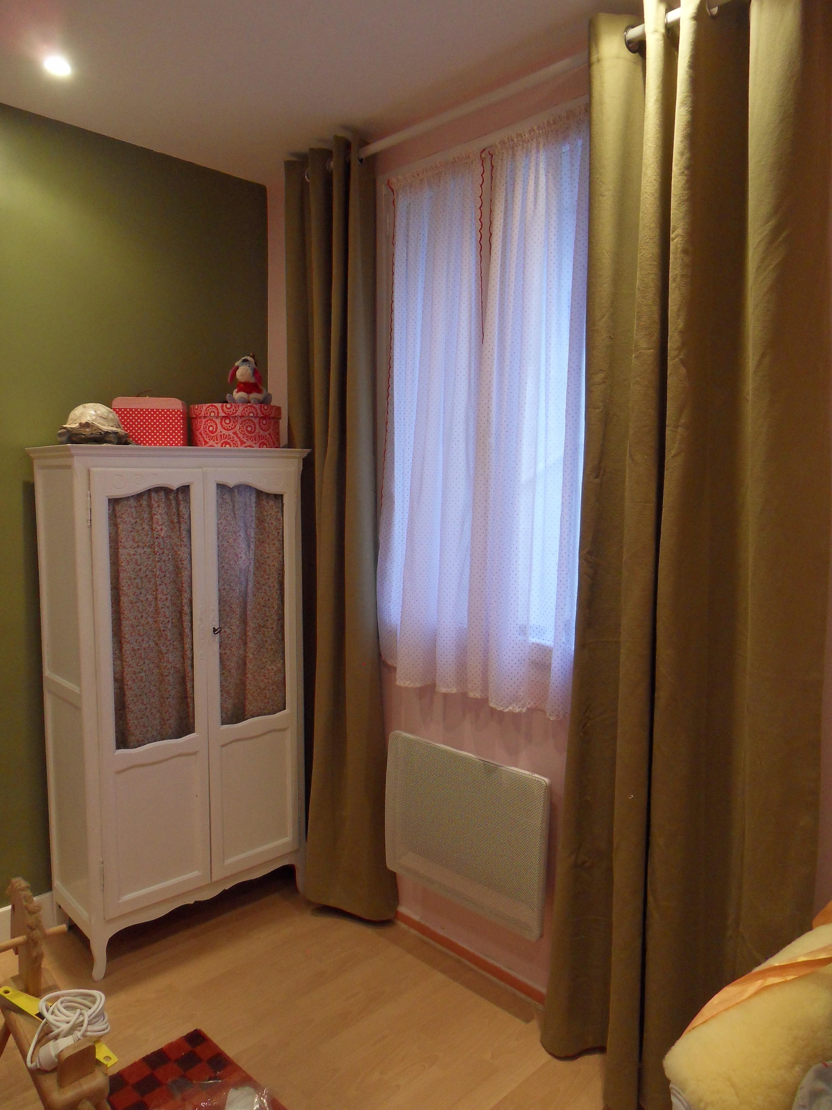 Дизайн штор для детской комнаты однотонный
