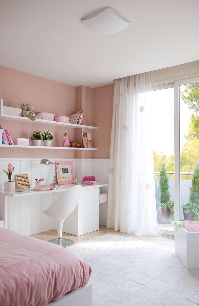 Дизайн штор для детской комнаты из органзы
