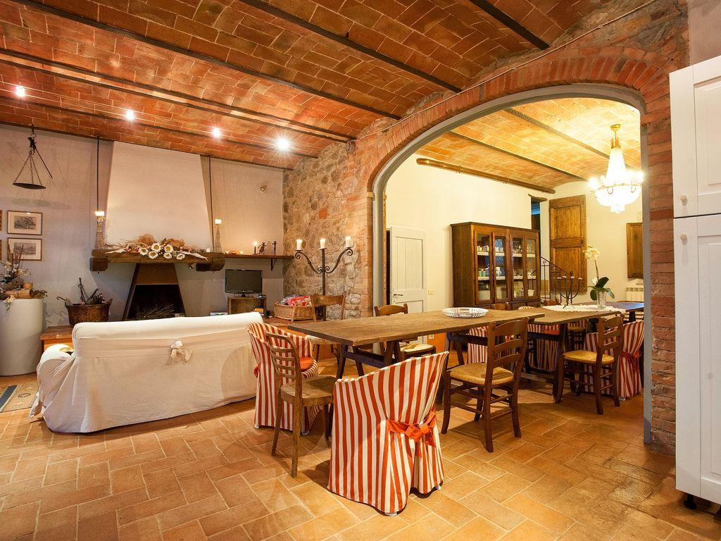 Итальянский стиль в интерьере с отделкой