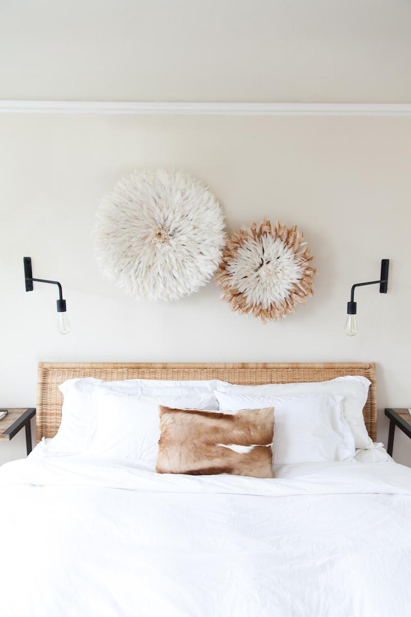 Панно над кроватью