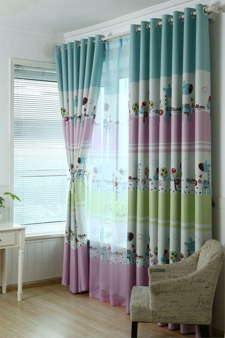 Дизайн штор партнеров для детской комнаты