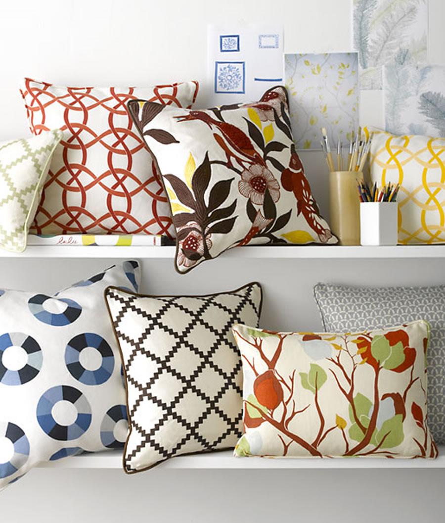 Подушки как декоративный элемент интерьера