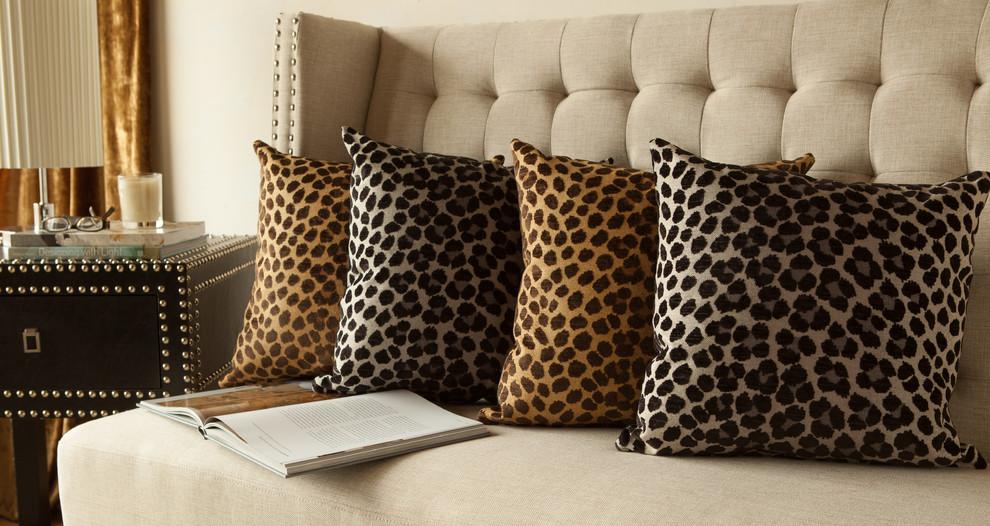 Подушки с леопардовым принтом