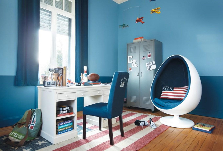 Дизайн штор для детской комнаты подростка