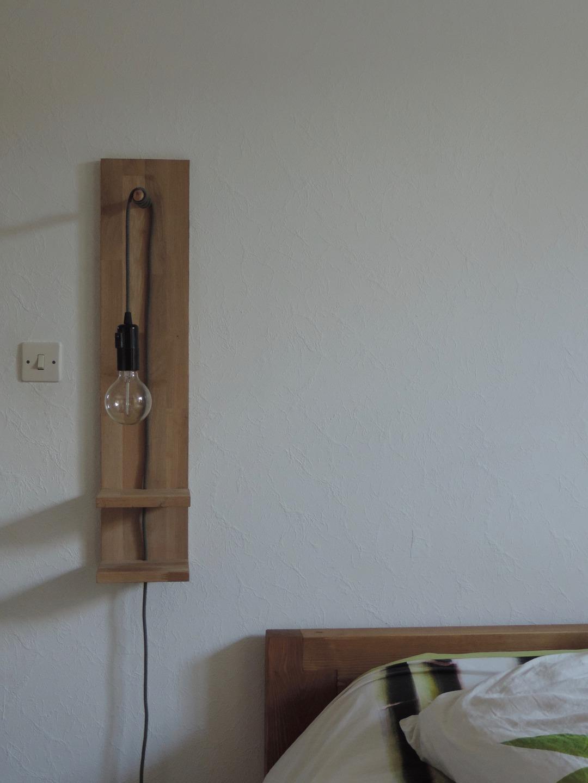 Прикроватный светильник подвесной