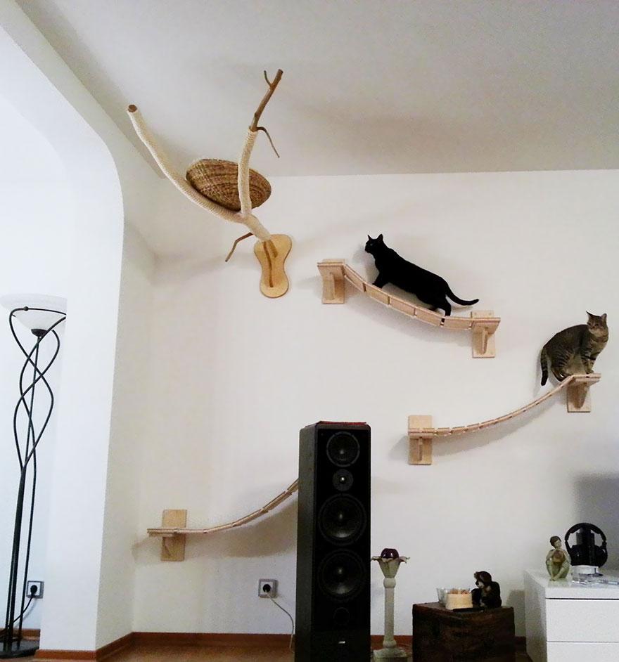 Домик для кошки подвесной