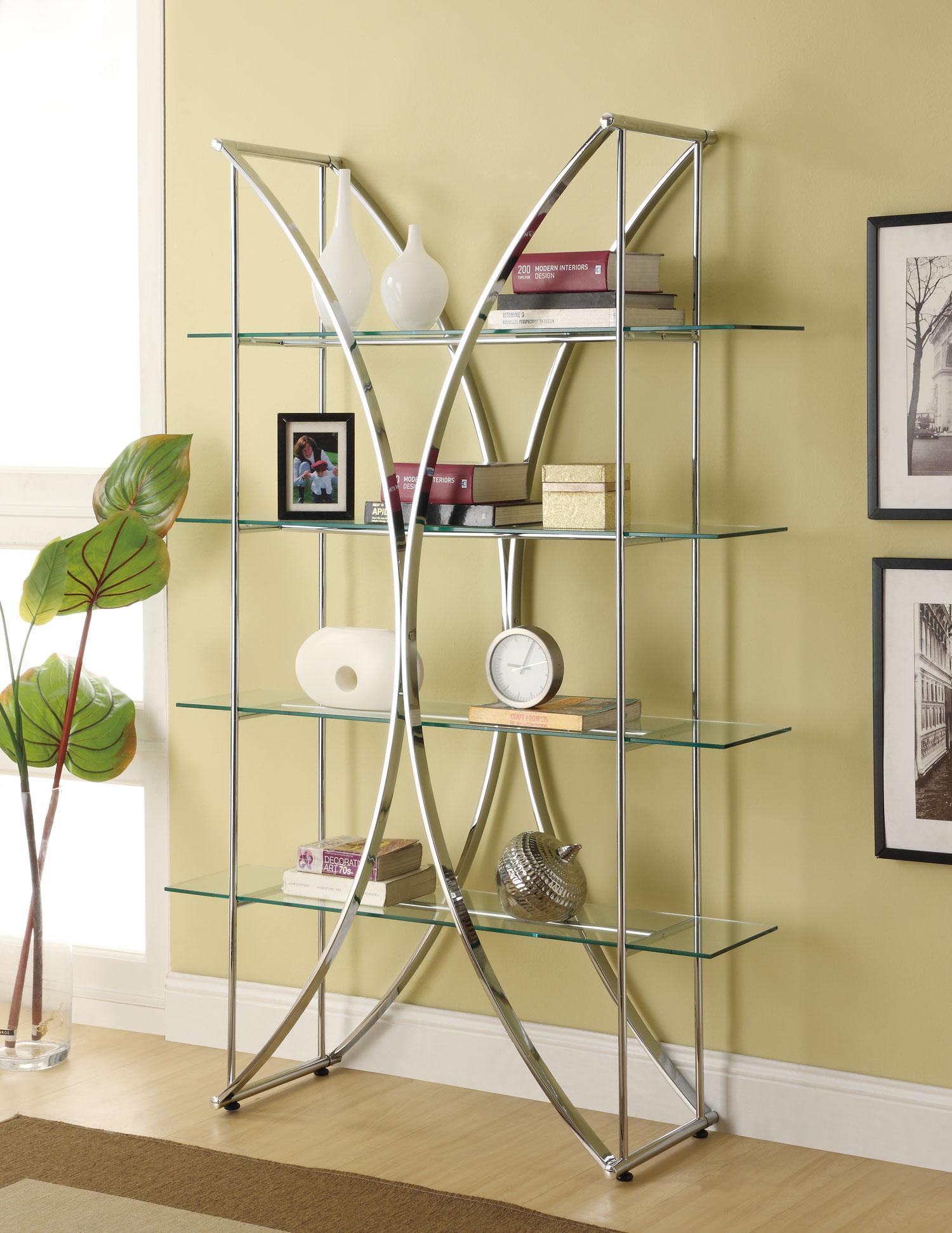 Стеллаж для хранения декоративных предметов, книг и прочего