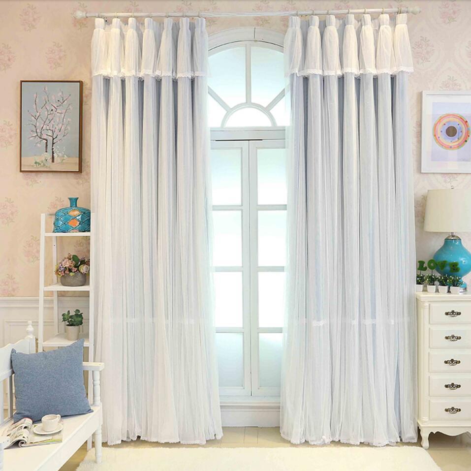 Дизайн штор для детской комнаты прованс