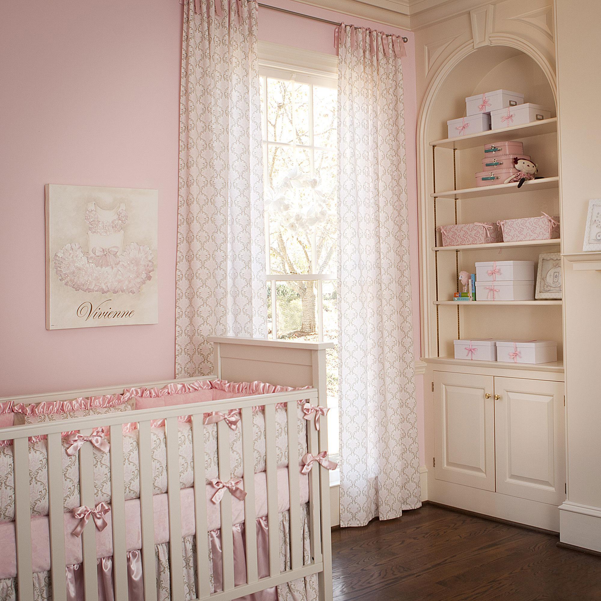 Дизайн штор для детской комнаты прямых