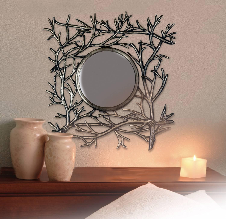 Рамка для зеркала в интерьере (54 фото): оригинальные декоры