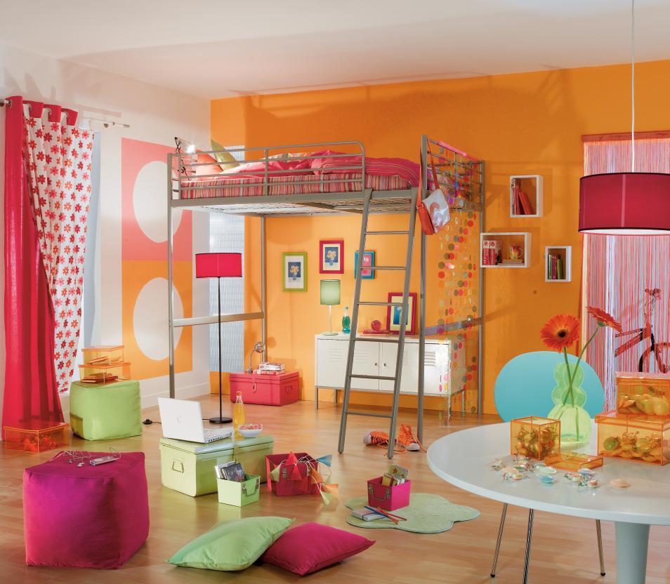 Дизайн штор для детской комнаты розовый