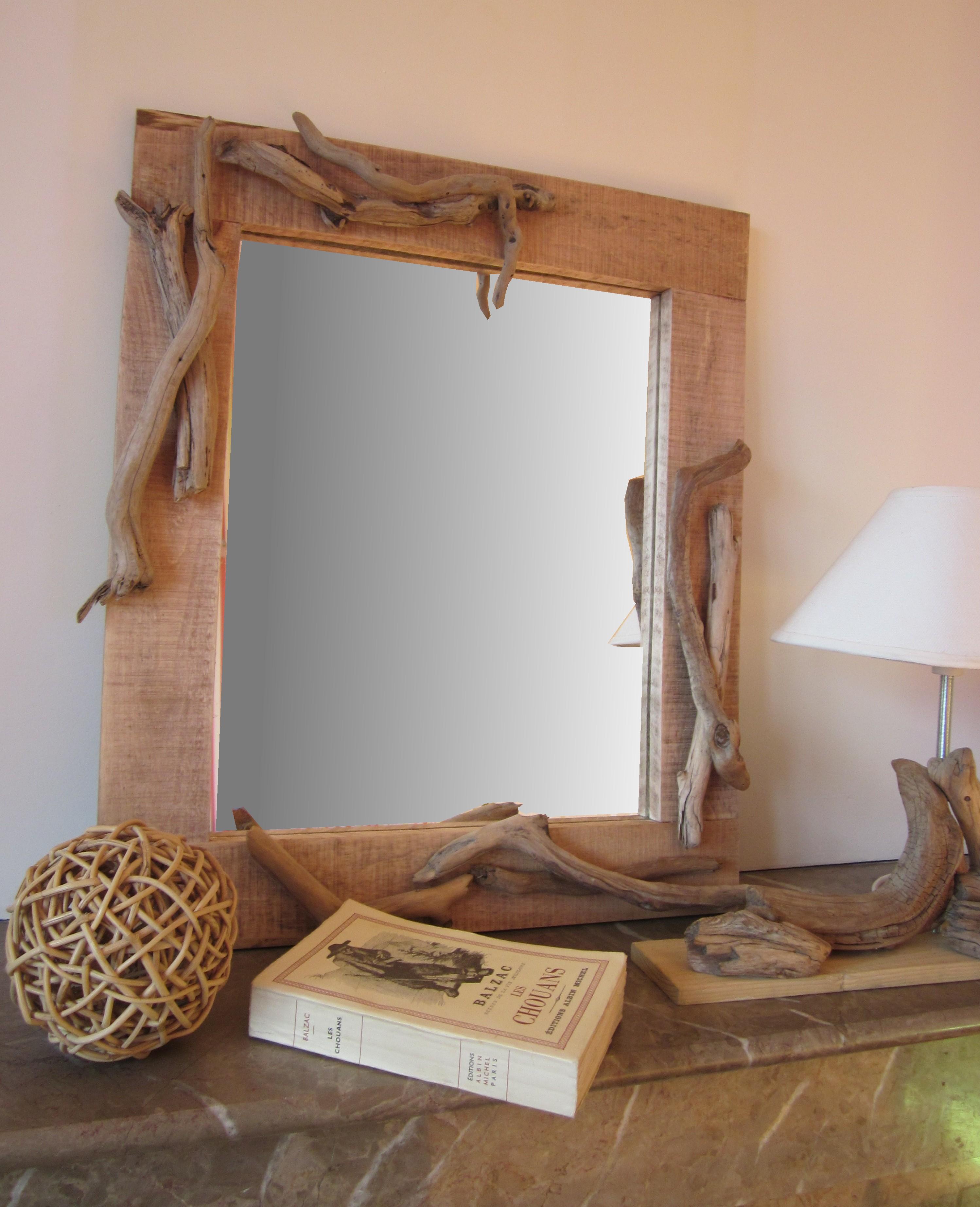 Рама для зеркала в рустикальном стиле
