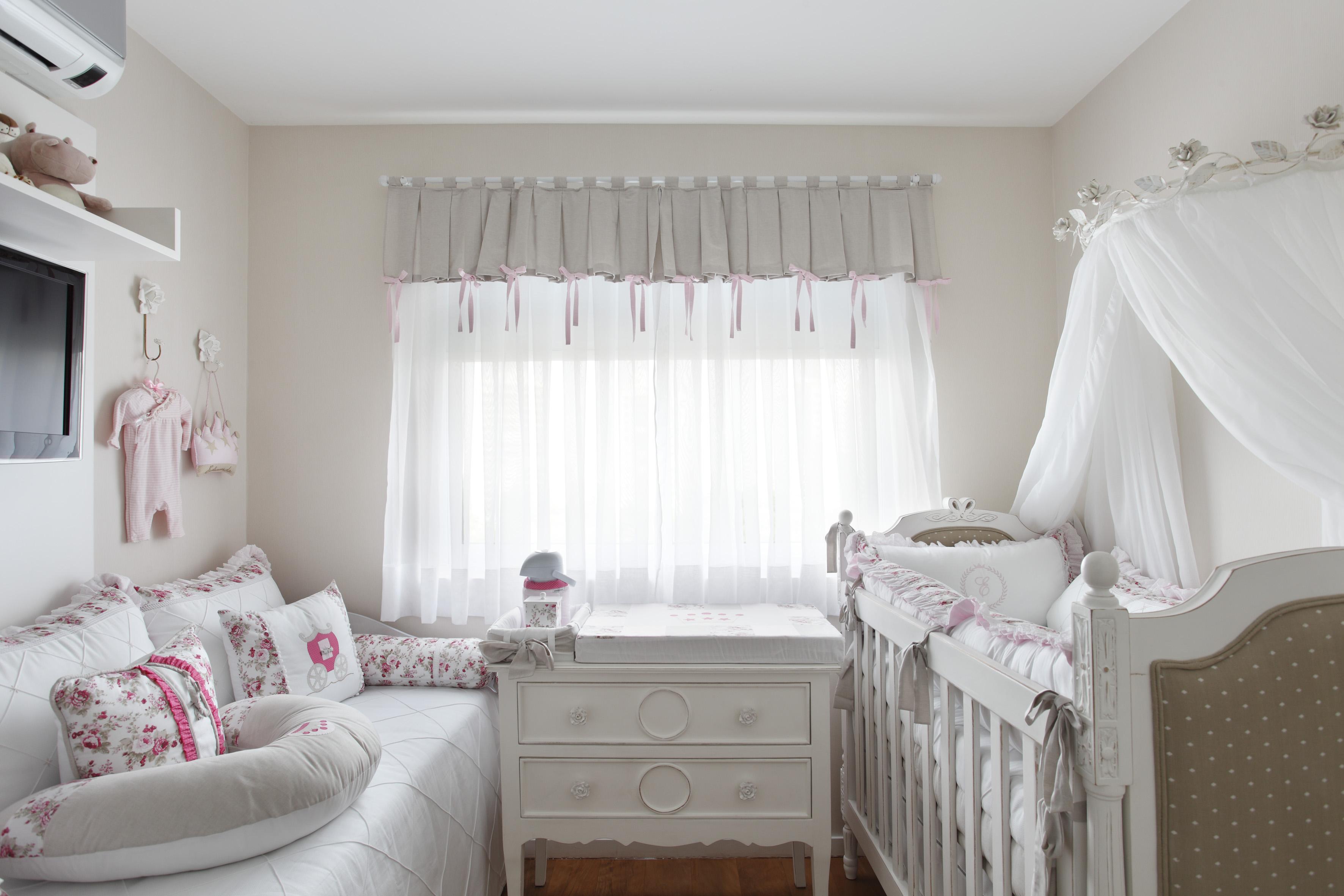 Дизайн штор для детской комнаты в стиле шебби шик