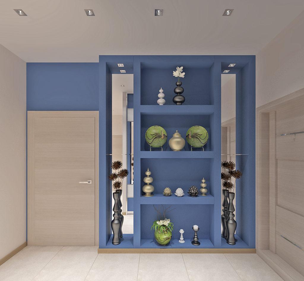 Декоративный шкаф для небольшой прихожей