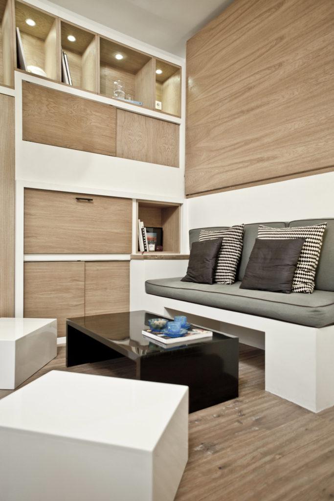 Многофункциональный шкаф для гостиной