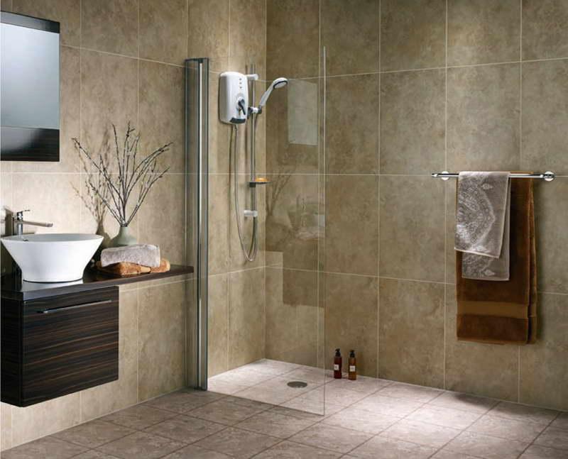 Маленькая душевая для ванной в квартире