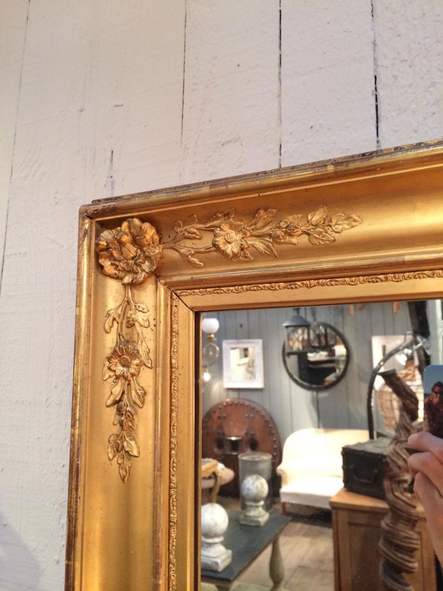 Состаренная рама для зеркала