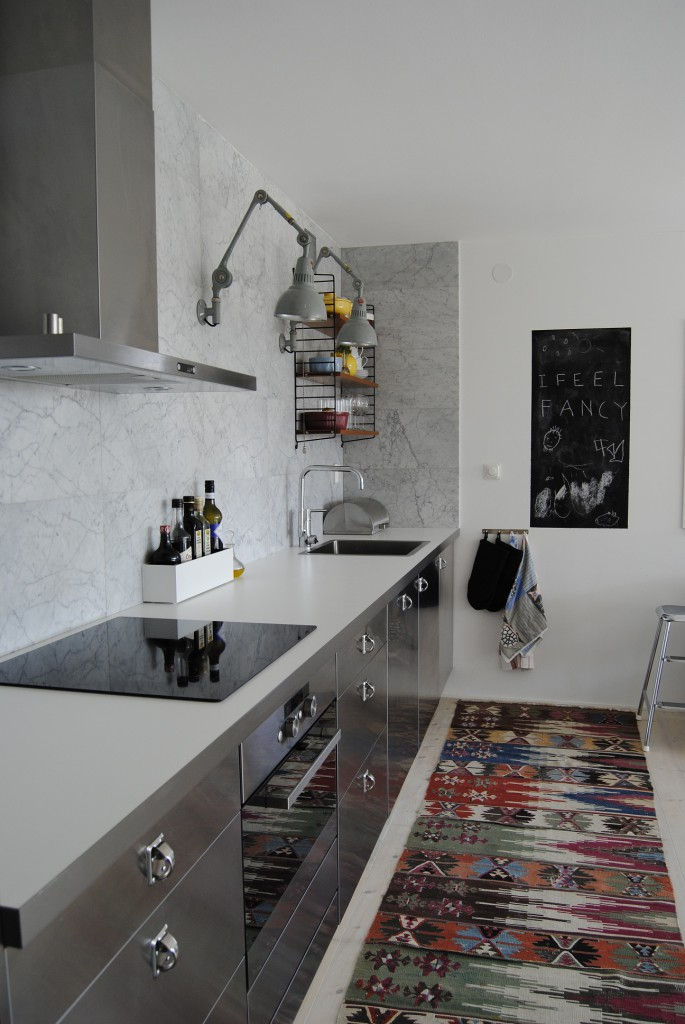 Кухня с элементами бохо стиля