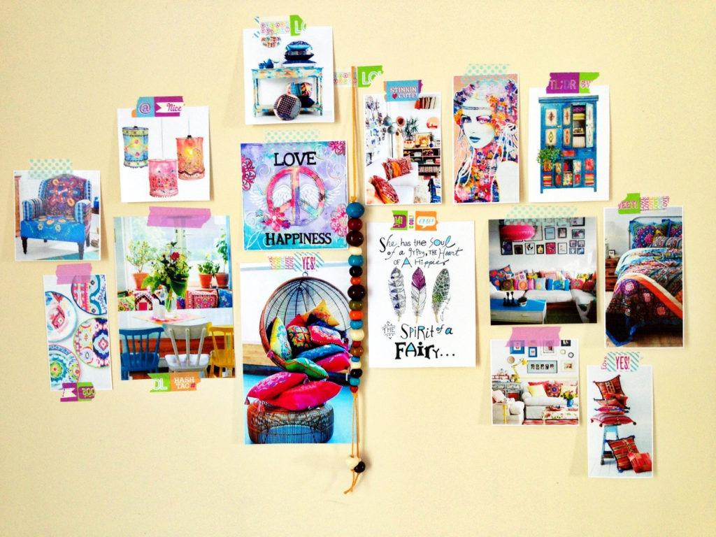Постеры на стену в бохо стиле