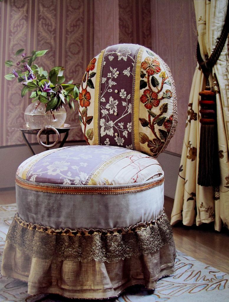 Оригинальный дизайн стула в стиле бохо