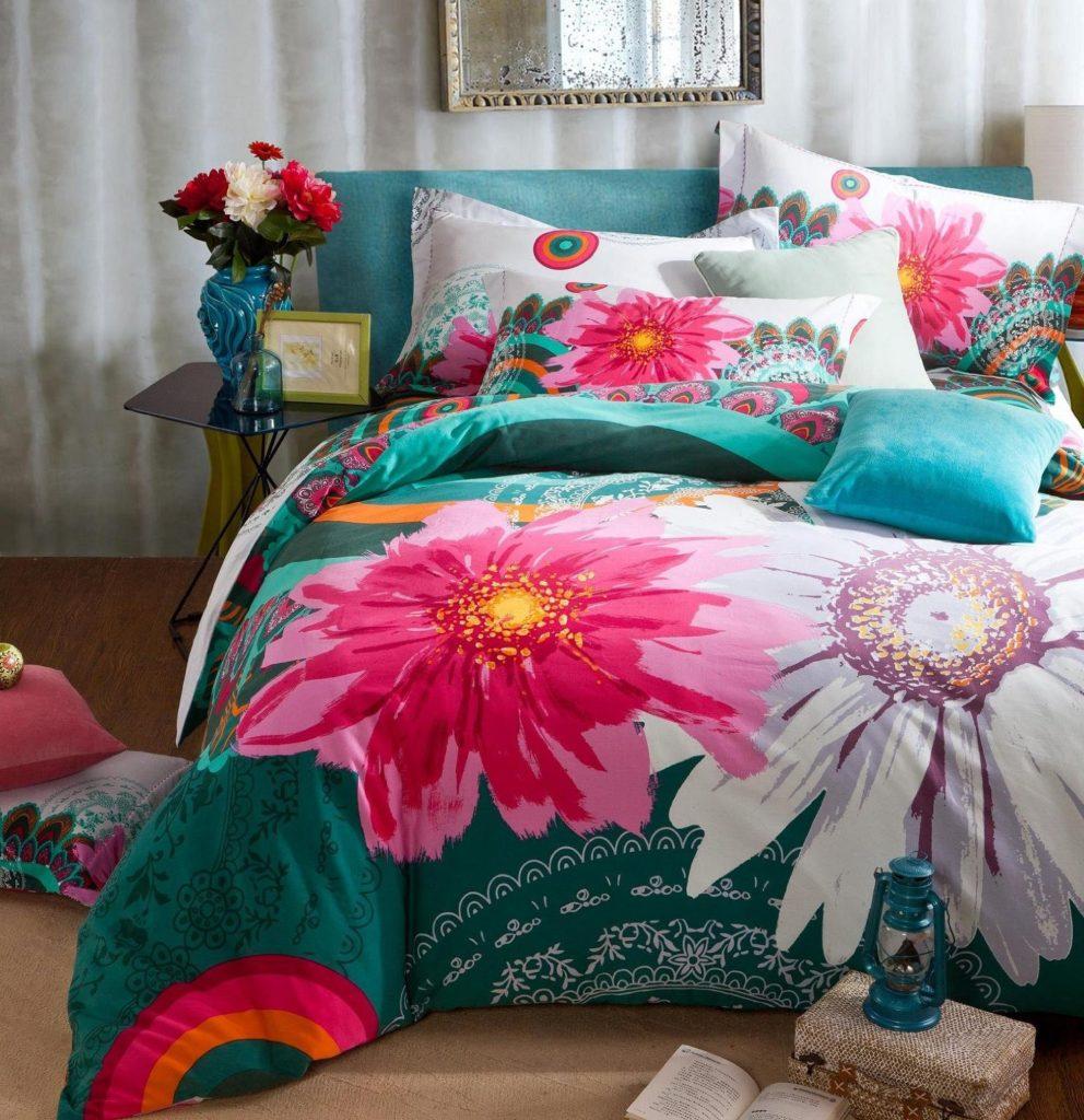 Бохо стиль в спальне