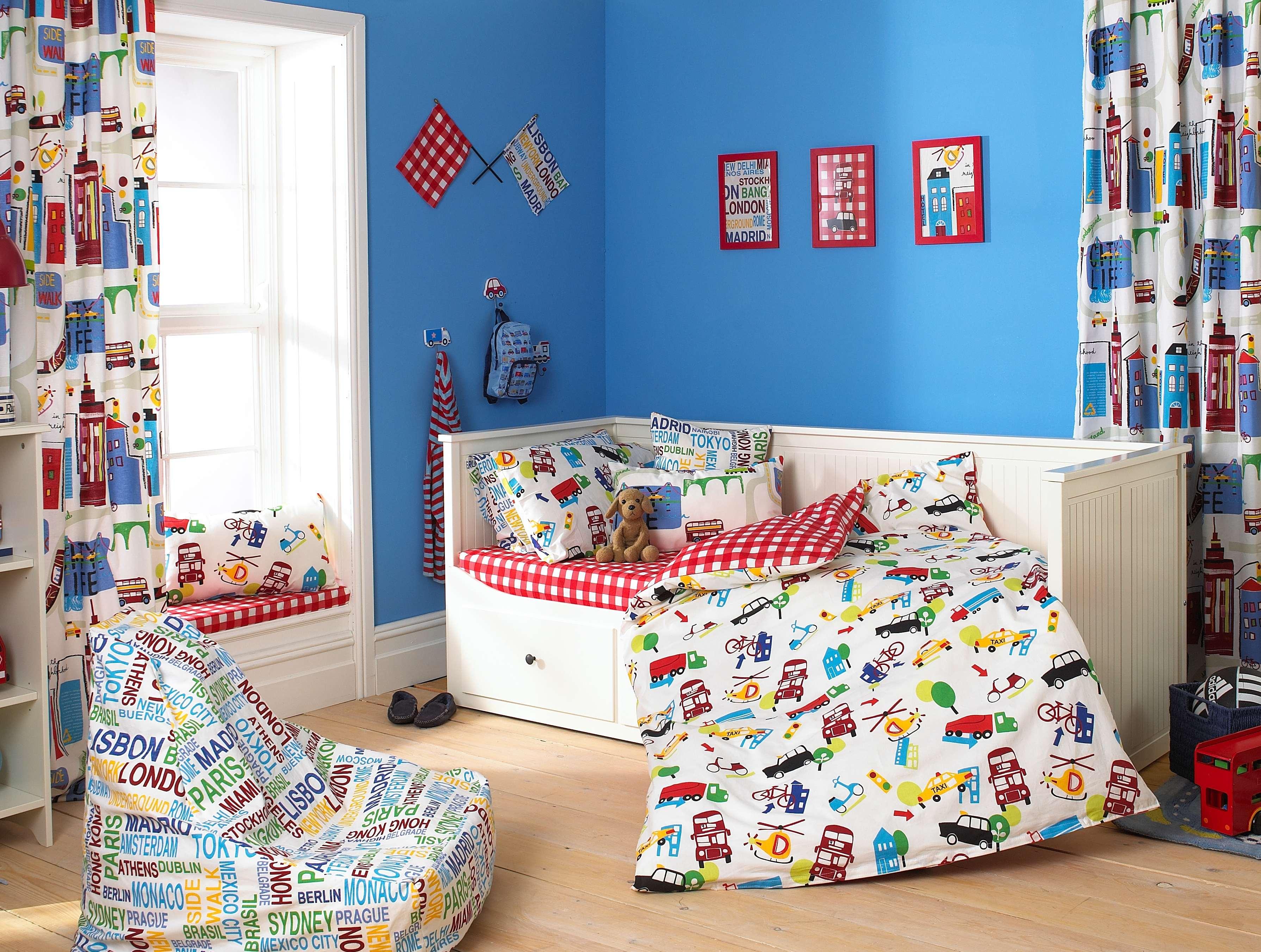 Дизайн текстиля для детской комнаты