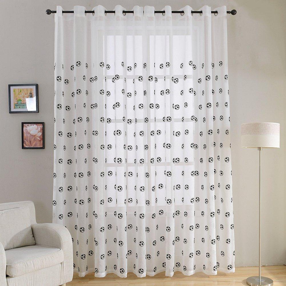 Дизайн тюля для детской комнаты
