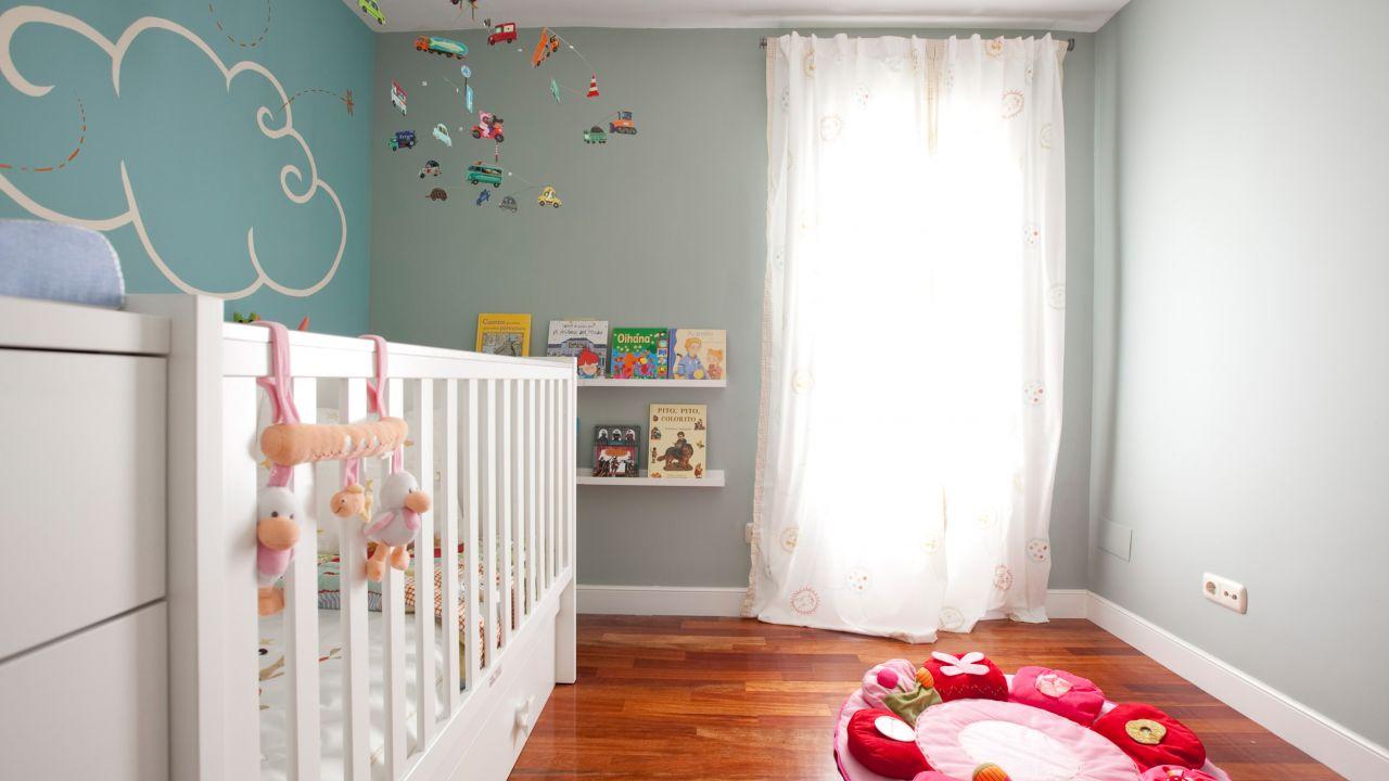 Дизайн штор для детской комнаты узких