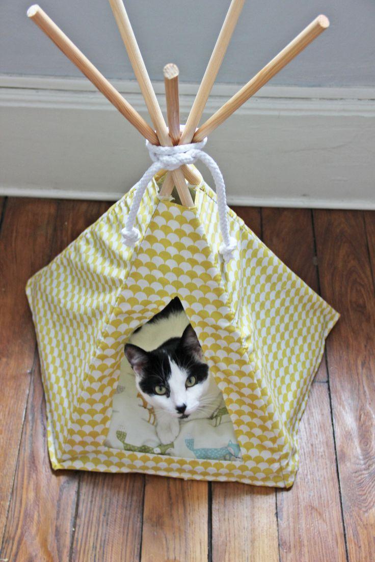 Домик для кошки вигвам