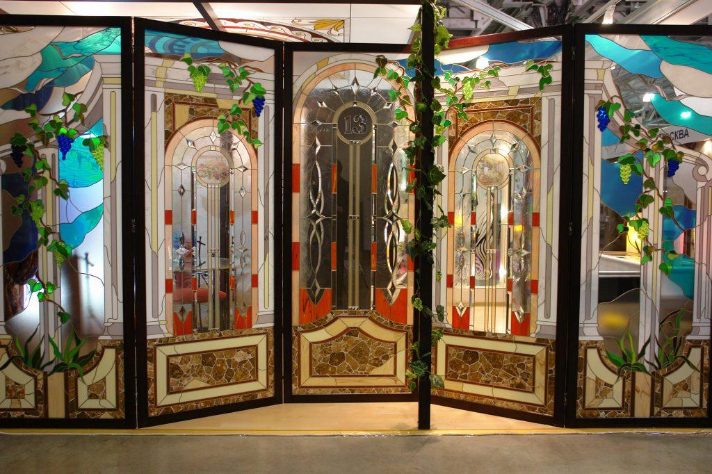 Витражные панели для окно и дверей