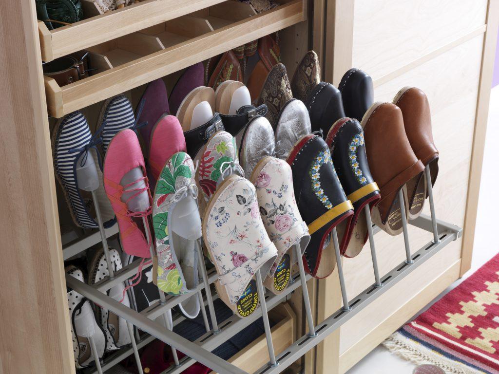 Выдвижная полка для обуви