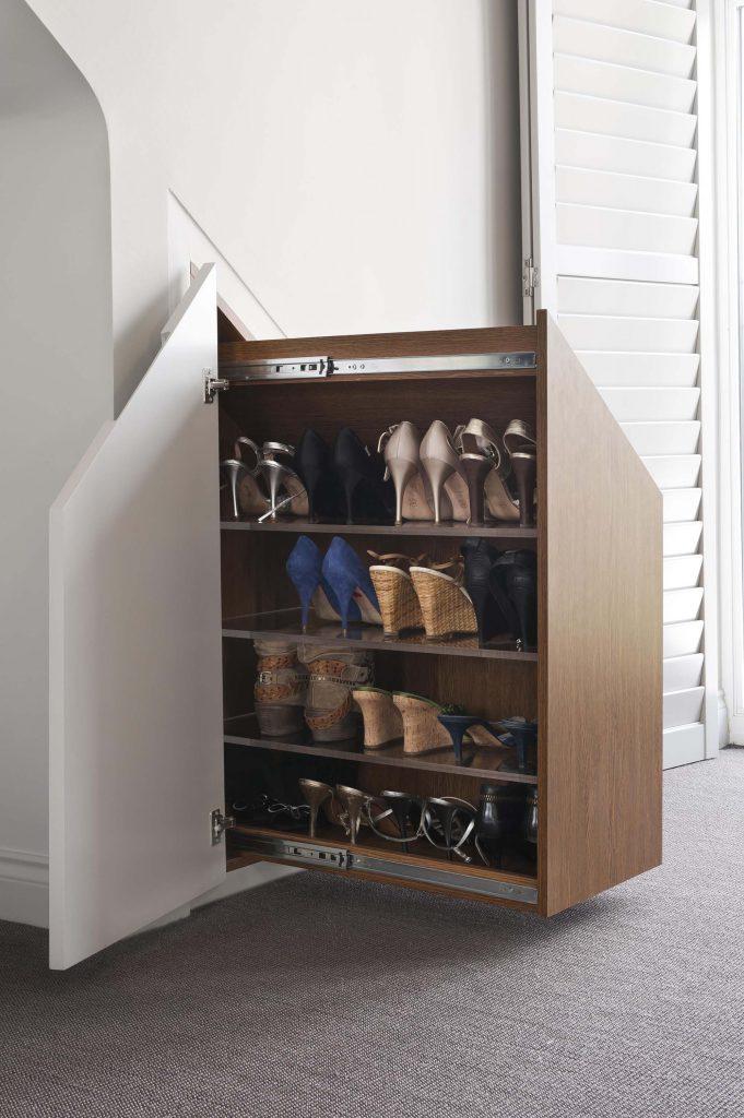 Выдвижная система хранения для обуви